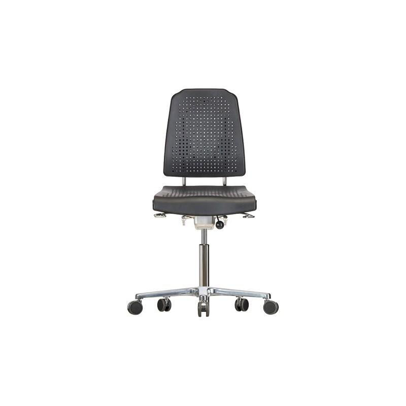 Drehstuhl mit Rollen Klimastar WS 9220 Soft-PUR-Sitz/Lehne Höhe