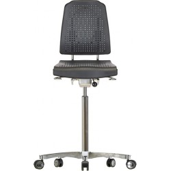 High chair with castors Klimastar WS9211.20 seat/backrest with