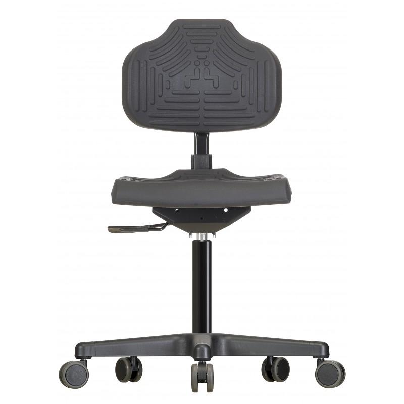 Drehstuhl mit Rollen Econoline WS 2220 Soft-PUR Sitz und Lehne