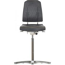 High chair with glides Klimastar WS9211 seat/backrest with