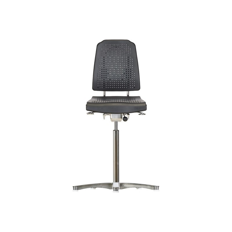 Chair with glides WS9211 ESD seat/backrest with Soft-PU