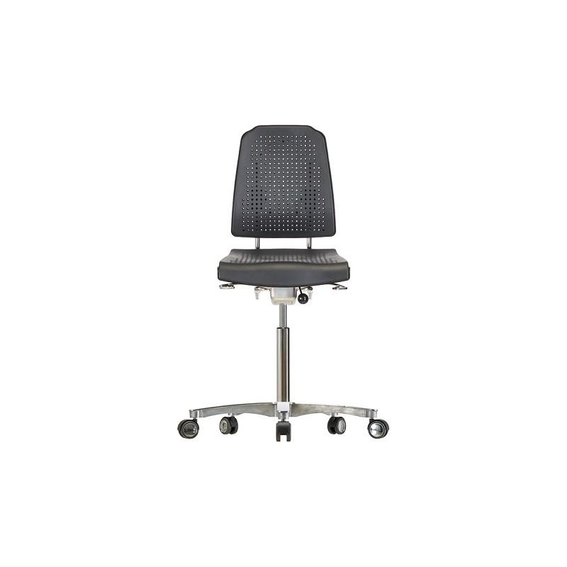 Krzesło na kółkach WS9211.20 ESD siedzisko/oparcie z Soft-PU