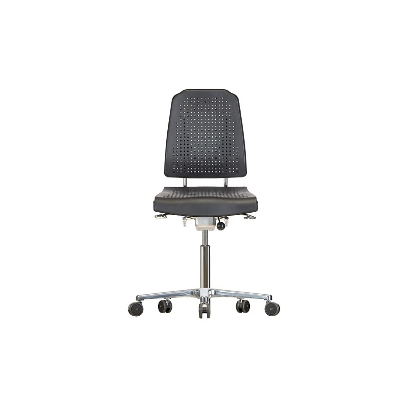 Chair with castors WS9220 ESD seat/backrest with Soft-PU