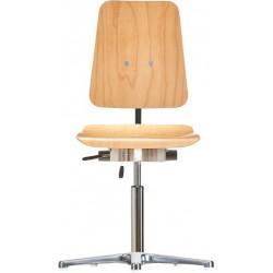 Krzesło na stopkach XL Classic WS1010 XL siedzisko/oparcie z