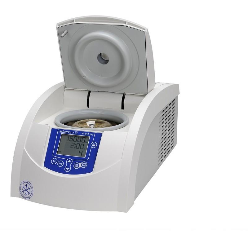 Wirówka laboratoryjna 1-14K z chłodzeniema na rotory kątowe