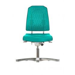 Chair with glides Klimastar WS9210 seat/backrest with Soft-PU
