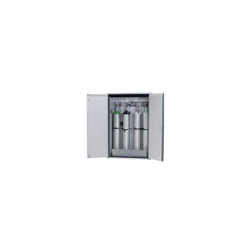 Gas cylinder cabinet G90.205.140 for four 50-liter-bottles