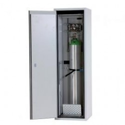 Gas cylinder cabinet G90.205.60 for one 50-liter-bottles yellow