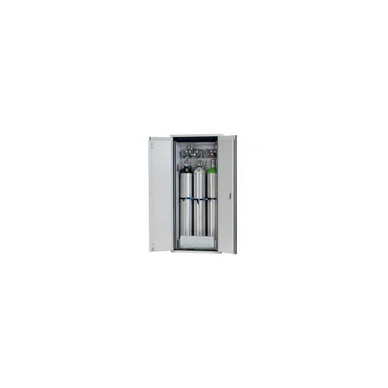Gas cylinder cabinet G90.205.090 for three 50-liter-bottles
