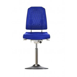 Chair with disc base Klimastar WS9210 TPU seat/backrest with
