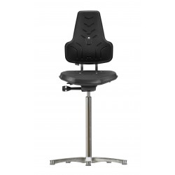 Hight chair with glides Werkstar WS 8211 seat/backrest PUR
