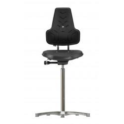 Krzesło wysokie na stopkach Werkstar WS8211 siedzisko/oparcie z