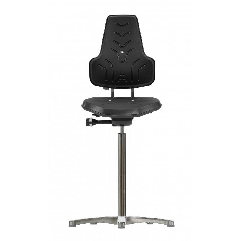 Hight chair with glides Werkstar WS 8211 seat/backrest PUR