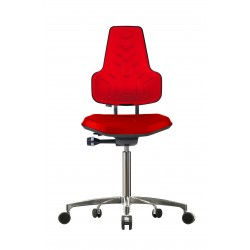 Chair with castors Werkstar WS8220 seat/backrest with Soft-PU