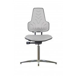 Krzesło na stopkach Werkstar WS8210 siedzisko/oparcie z Soft-PU