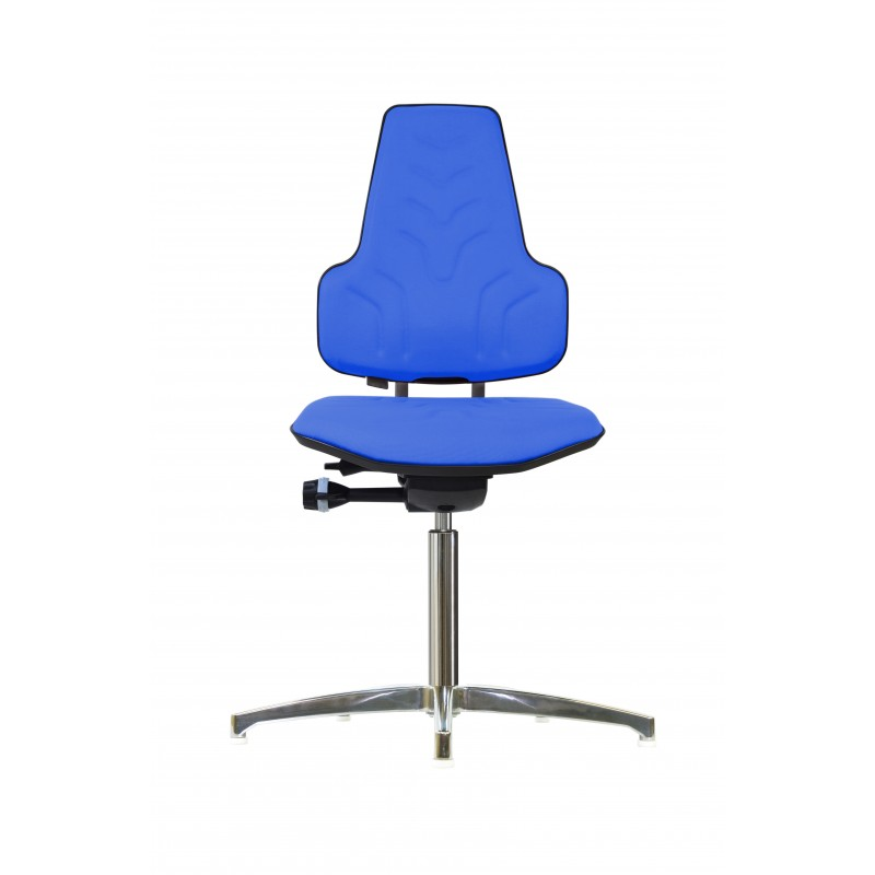 Chair with glides Werkstar WS8310 3D seat/backrest with fabric