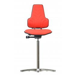 Hight chair with glides Werkstar WS8311 3D seat/backrest with