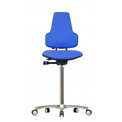 Hight chair with castors Werkstar WS8311.20 3D seat/backrest