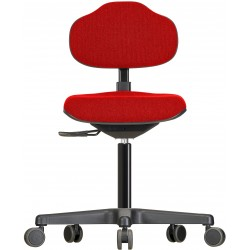 Drehstuhl mit Rollen Econoline WS 2320 Sitz und Lehne