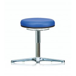 Rotary stool with glides WS3310 KL Classic seat with synthetic
