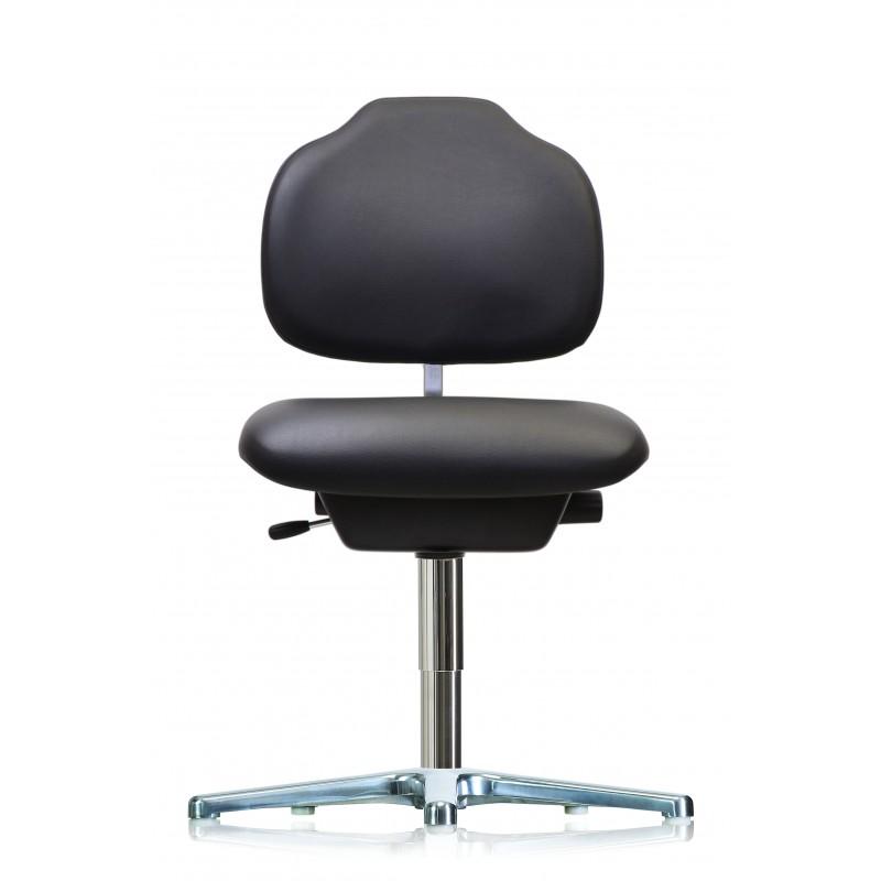 Arbeitsstuhl WS1310 KL Ergo GMP ohne Kantenschutz Sitz und