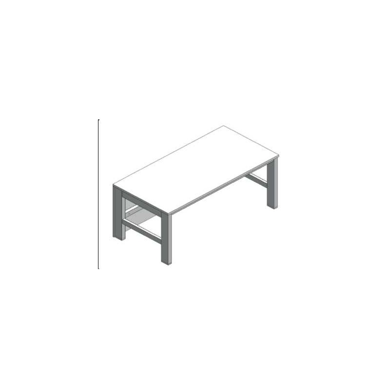 Microscope table fixed height without vibration damping WxDxH