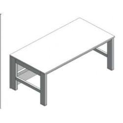 Stół mikroskopowy stała wysokość bez tłumienia drgań SxGxW