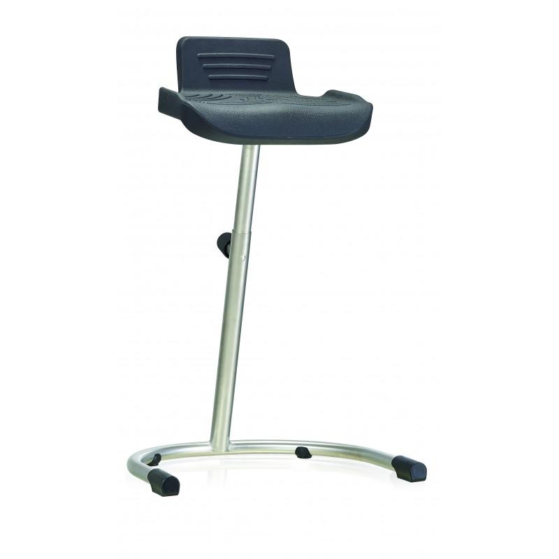 Stehhilfe WS144211 U für Nassräume Soft-PUR-Sitz Bogenfuß und