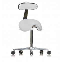 Saddle stool with castors WS3520 KL GMP RL (V) seat with