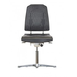 Chair with glides Klimastar WS9210 seat/backrest with Soft-PU