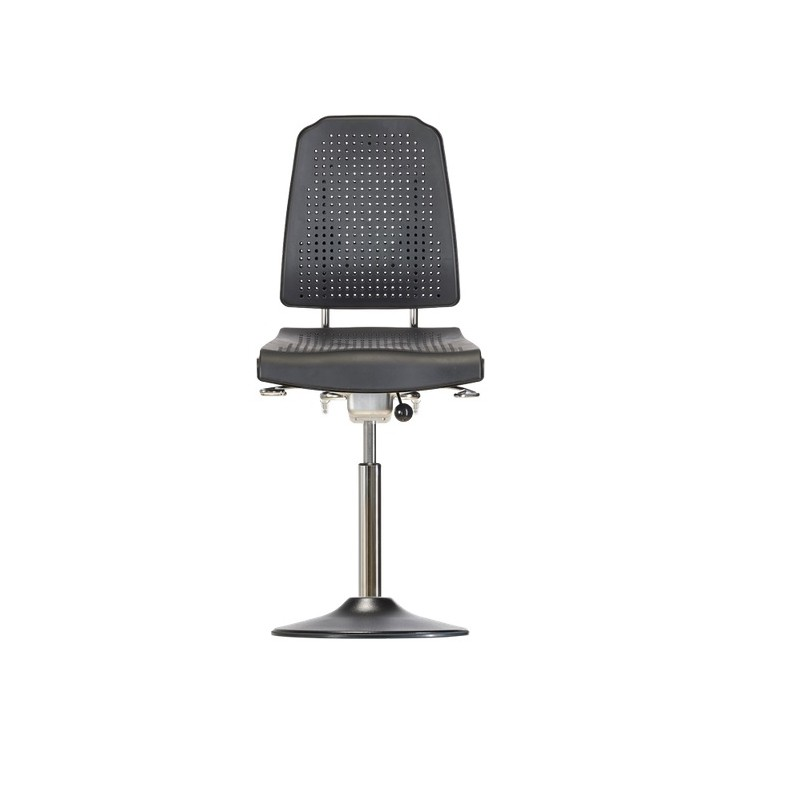 Chair with disc base Klimastar WS9210 T seat/backrest with