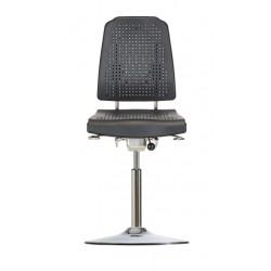 Hochstuhl mit Tellerfuß Klimastar WS 9211 T Soft-PUR-Sitz und