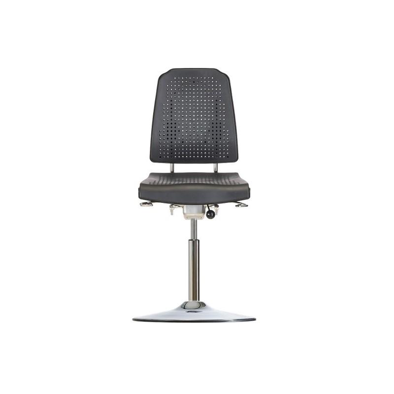 High chair with disc base Klimastar WS9211 TPU seat/backrest