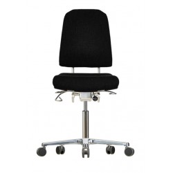 Chair with castors Klimastar WS9320 seat/backrest with fabric