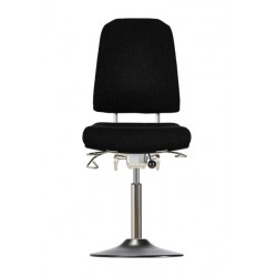 Chair with disc base Klimastar WS9310 T seat/backrest with