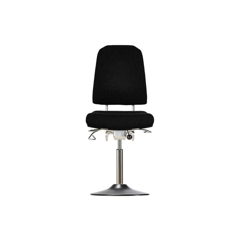 Drehstuhl mit Tellerfuß Klimastar WS 9310 T Sitz und Lehne
