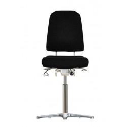 Krzesło wysokie na stopkach Klimastar WS9311 siedzisko/oparcie