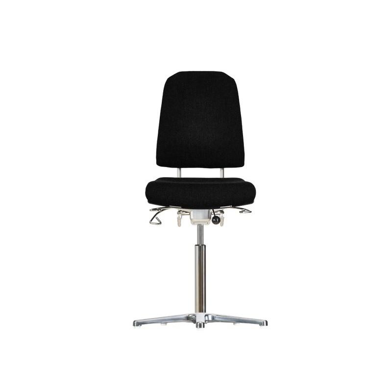 Hight chair with glides Klimastar WS9311 seat/backrest with
