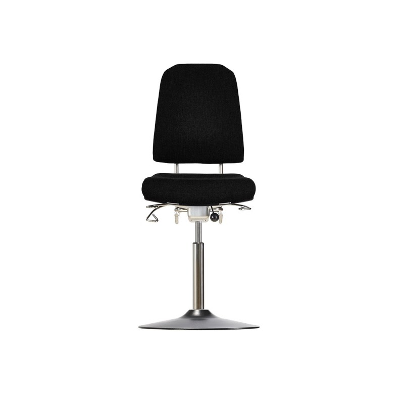 Hight chair with disc base Klimastar WS9311 T seat/backrest