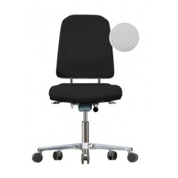 Chair with castors Klimastar WS9320 KL seat/backrest with