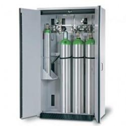 Gas cylinder cabinet G30.205.120 for four 50-liter-bottles