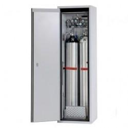 Gas cylinder cabinet G90.205.60.2F.R for two 50-liter-bottles