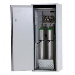 Gas cylinder cabinet G90.145.060R for 2 x 10 L bottles grey