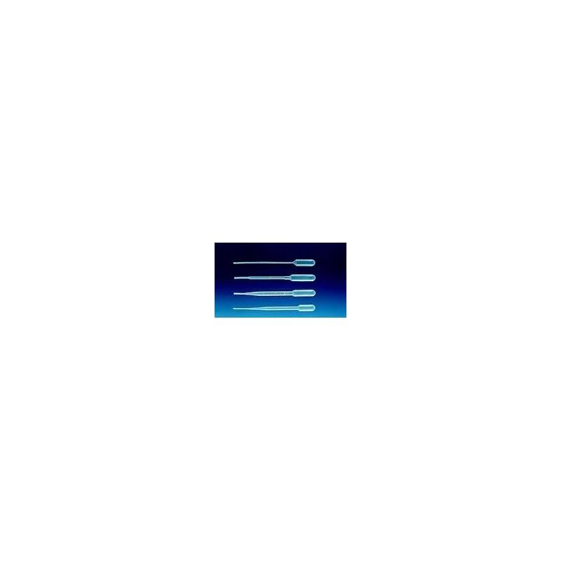 Pipeta Pasteura PE-LD 2,4mL długość 155 mm