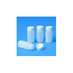 Sample container 20 ml PE-HD with screw cap GL22,5 pack 100 pcs