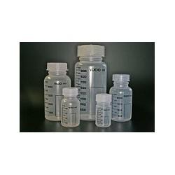 Weithalsflasche PP 250 ml mit Graduierung autoklavierbar mit