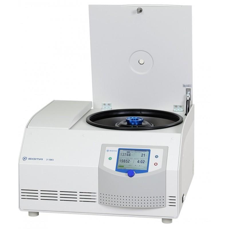 Gekühlte Tischzentrifuge Sigma 3-18KS 220-240 V 50/60 Hz Option