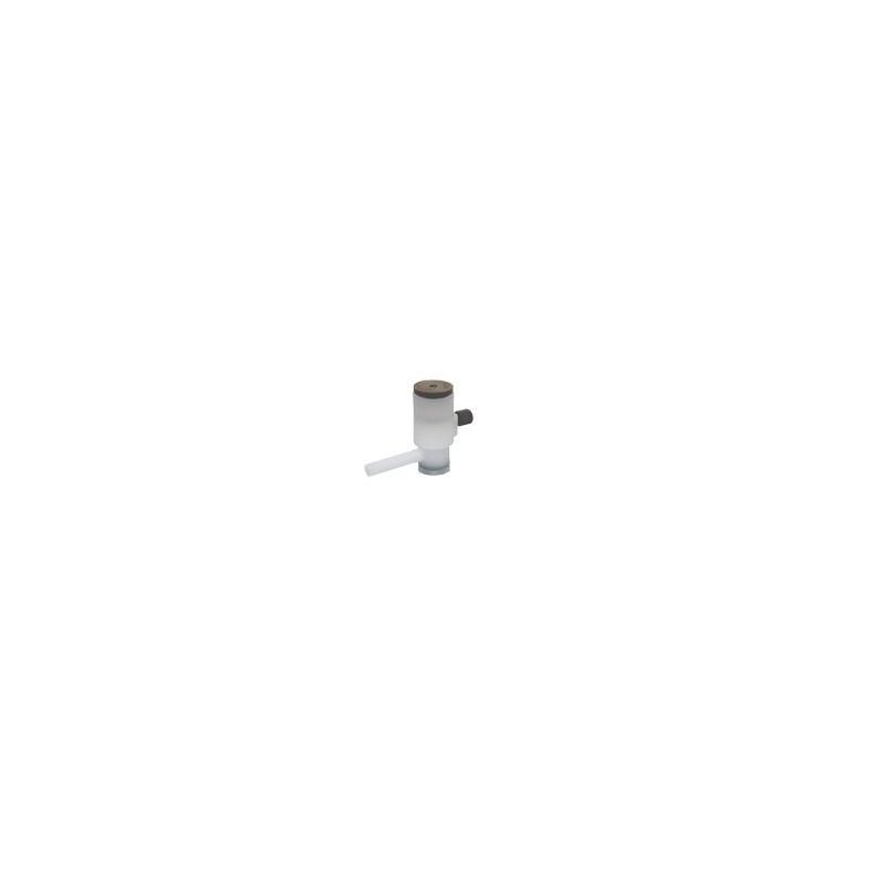 Gasprobenbeutel 10L Tedlar mit Septum/Ventil/Schlauchstutzen