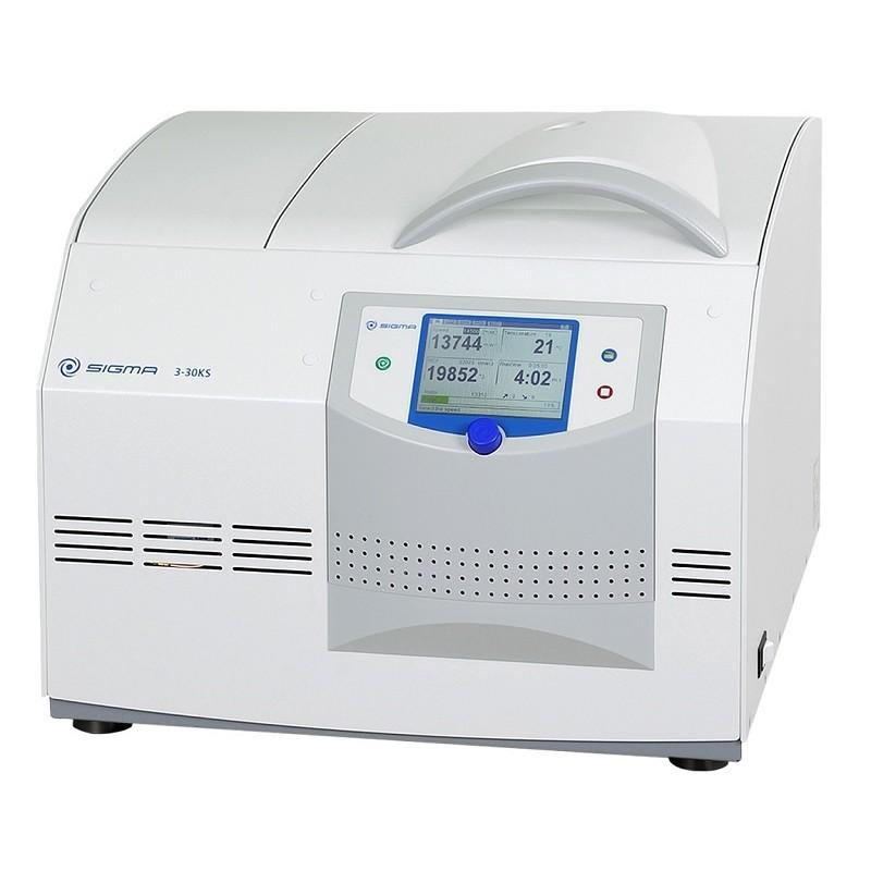Gekühlte Tischzentrifuge Sigma 3-30KS 220-240 V 50 Hz Option