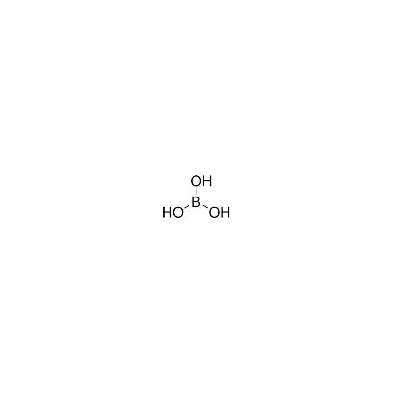 Boric acid powder H3BO3 [10043-35-3] Ph. Eur. BP NF pack 25 kg